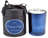 D.L. & Co. Midnight Magic Electroplated Candle (15 OZ)