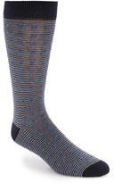 Ted Baker Men's Dot & Stripe Pattern Organic Cotton Socks