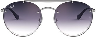 Ray-Ban Blaze Round Double Bridge Sunglasses