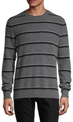 Vince Stripe Cashmere Crewneck Sweater