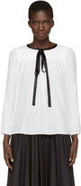 Marc Jacobs White Silk Blouse