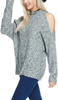 Bellino Charcoal Cutout Sweater