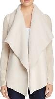 Bagatelle Faux Shearling Knit Jacket