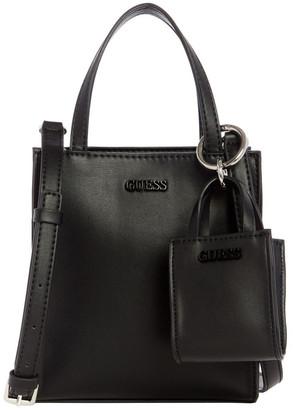 GUESS VY786577BLA Picnic Flapover Tote Bag