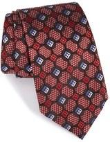 Ermenegildo Zegna Men's Medallion Silk Tie