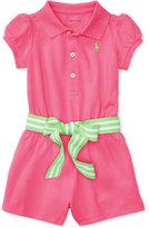 Polo Ralph Lauren Romper, Baby Girls (0-24 months)