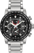 Citizen Men's Eco-Drive Stainless Steel Bracelet Watch 44mm AT9071-58E