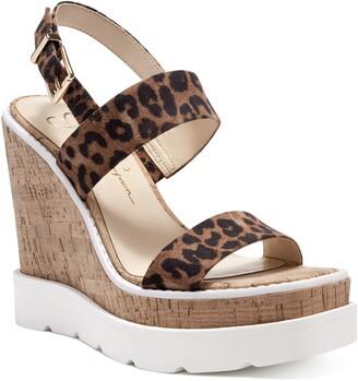 Jessica Simpson Maede Cork Wedge Sandal