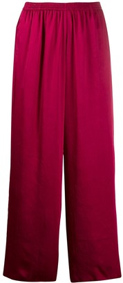 Forte Forte relaxed satin trousers