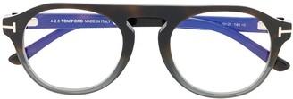 Tom Ford Clip-On Lens Glasses