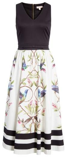 Ted Baker High Grove Fit & Flare Dress