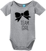 Sod Uniforms Team Girl Bow Gender Reveal Onesie Funny Bodysuit Baby Romper
