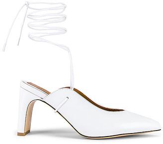 Jaggar Laced Leather Heel