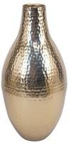 Threshold Textured Vase Gold Tall