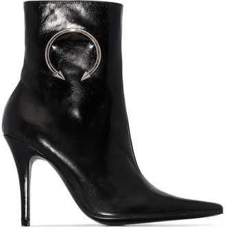 Dorateymur Panther 110mm ankle boots
