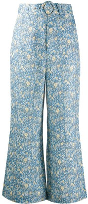 Zimmermann Carnaby flared trousers