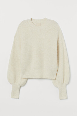 H&M Fine-knit Alpaca-blend Sweater