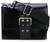 Versus buckled shoulder bag - women - Calf Leather - One Size
