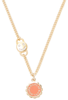Marc by Marc Jacobs Scalloped Disc-O Pendant Necklace