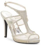 Caparros Azalea Glitter Mesh Slingback Sandals
