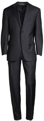 Canali Wool Two-Button Suit