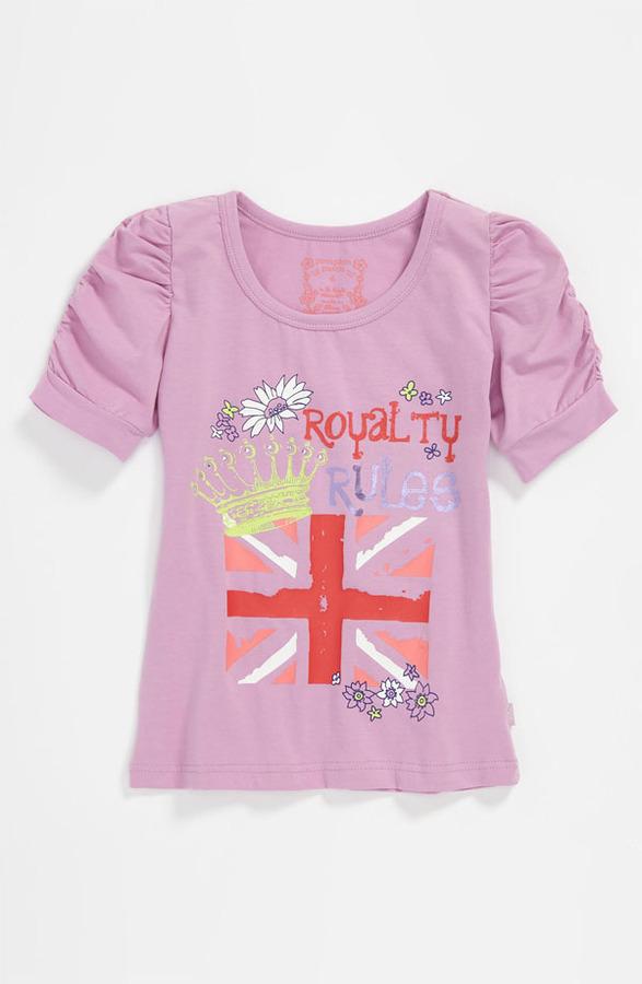 Pumpkin Patch 'Royalty Rules' Top (Little Girls & Big Girls)