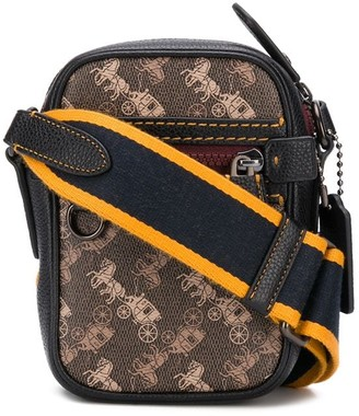 Coach All-Over Print Messenger Bag