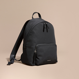 Burberry Leather Trim Technical Backpack