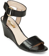 Louise et Cie Phiona Leather Wedge Sandals