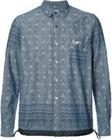 Sacai long-sleeved sweatshirt