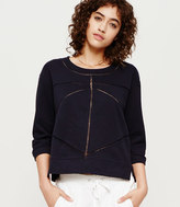 LOFT Lou & Grey Intersection Sweatshirt
