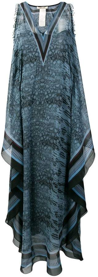 Roberto Cavalli shoulder cutout dress