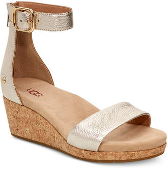 UGG Women Zoe Ii Wedge Sandals