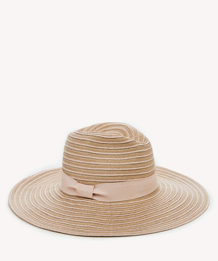 153b5612b Women's Wide Brim Fedora Hat With Band Blush One Size From