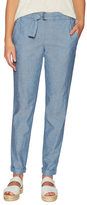 Vince Belted Chambray Pants