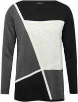 M&Co Colour block jumper