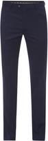 Oxford Hopkins Wool Trousers Blue X