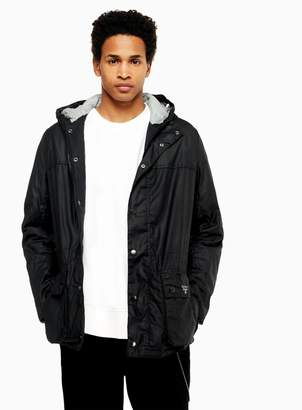 Barbour TopmanTopman BEACON Durham Black Waxed Double Pocket Jacket
