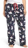 PJ Salvage Velour Thermal Lounge Pants (Plus Size)