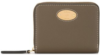 Mulberry Logo Plaque Zipped Wallet