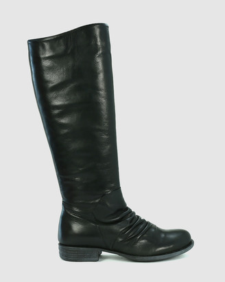 EOS Women's Black Long Boots - Wilderness - Size One Size, 38 at The Iconic