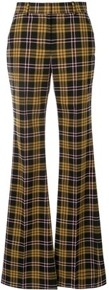 Rebecca Vallance Checkered High-Waisted Trousers