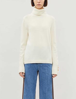 Benetton Turtleneck virgin wool and cashmere-blend jumper