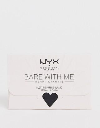 NYX Bare With Me Hemp Matte Oil-Control Blotting Paper