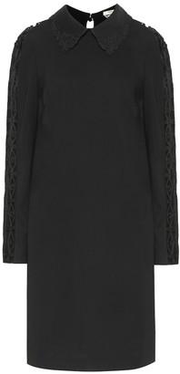 Fendi Stretch-cady dress