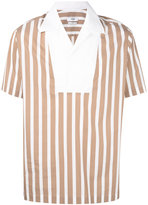 Cmmn Swdn Deven Popover shirt - men - Cotton - 46