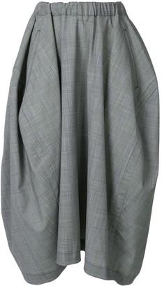 Comme des Garçons Comme des Garçons Flared Mid-Length Skirt