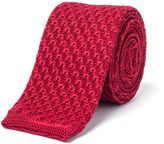 Gibson Red Knit Tie