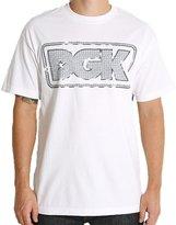 DGK Men's Bling T Shirt White 3XL