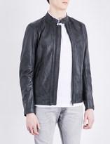 Diesel L-kalfie leather jacket